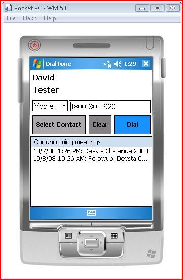Dial Tone, a Windows Mobile DTMF Tone Generator | Robotification
