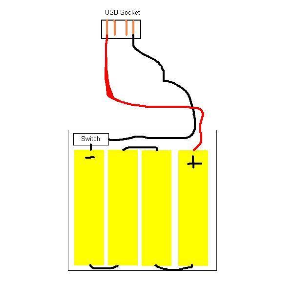 diy usb travel charger robotification rh robotification com usb charging cable wiring diagram iphone usb charger wiring diagram